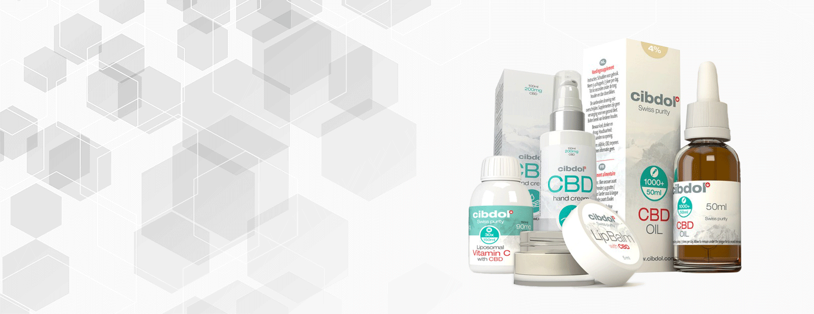 CBD Products Banner